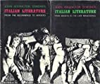 Italian Literature In Two Parts , From the…