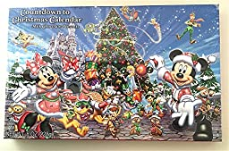 Mickey Mouse Walt Disney Parks Countdown to Christmas Advent Chocolate Calendar--8oz