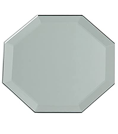 Octagon 12-inch X 12-inch Mirror Tiles with Bevel Edge by Darice