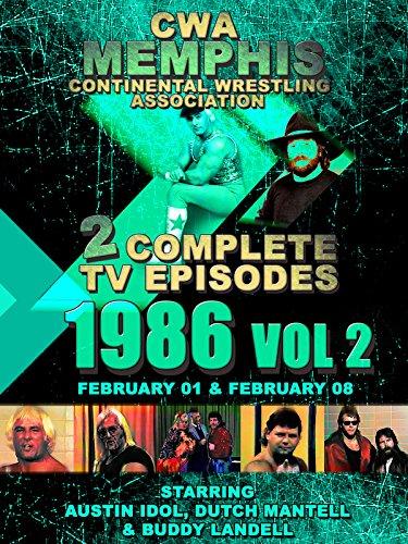 CWA Memphis Wrestling 2 Complete TV Episodes 1986 Vol 2