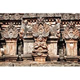 ArtzFolio Ancient Hindu Temple Statues In Hampi India FRAMED PREMIUM CANVAS Wall Artwork Digital PRINT Like HAND...