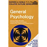General Psychology: Survey of Basic Principles, Review Questions and Answers (College Outline Series, No. 24)