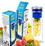 Basily Infuser Water Bottle - 28 ounc...