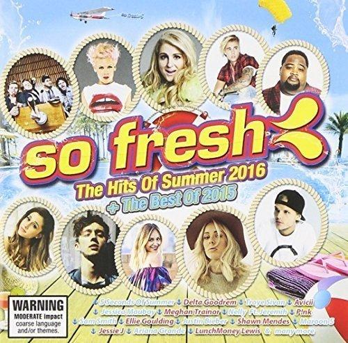 CD : So Fresh: Hits Of Summer 2016 & Best Of 2015 / Var (Australia - Import, 2 Disc)