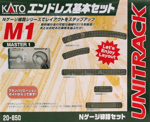Nゲージ 20-850 M1 エンドレス基本セット マスター1
