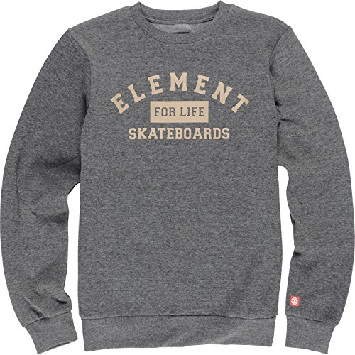 Felpa Element: For Life CR Charcoal Heather GR L