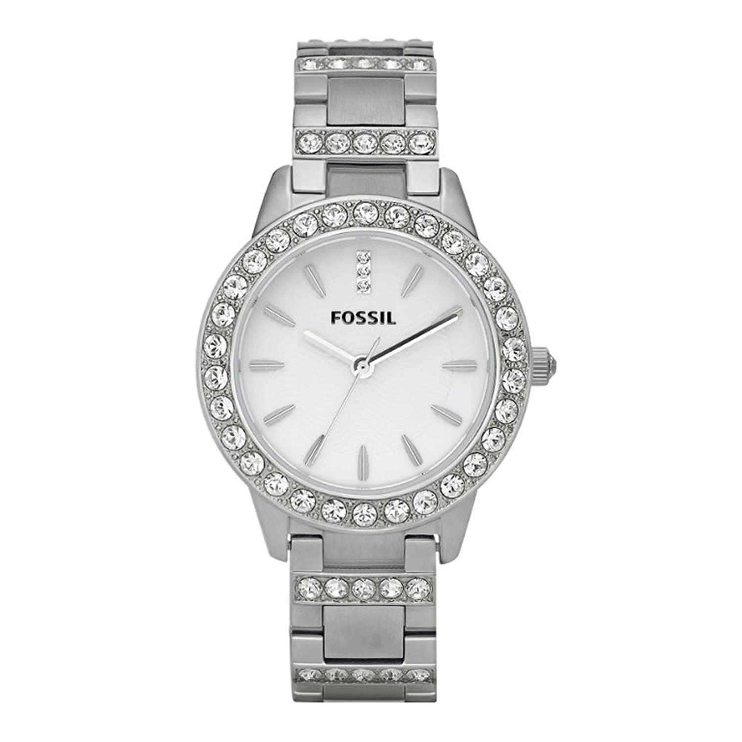 Fossil Analog White Dial Women Watch on Heavenkart