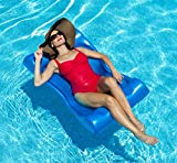 Deluxe Aqua Hammock Pool Float - 48 in. x 27 in. - Blue