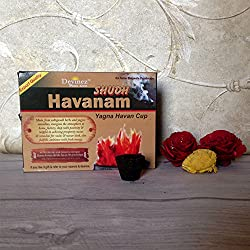 Devinez Sudh Havanam, Yagna Havan Sambrani Cups (Pack of 6 boxes, 12 Cups in each box)