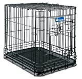 Petmate Deluxe Edition Wire Dog Kennel, Giant, 48-1/2 by 30 by 34-1/2-Inch