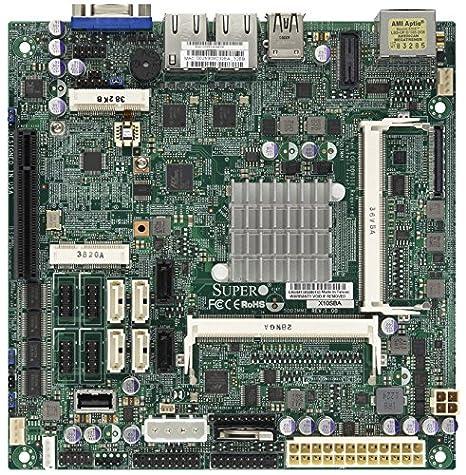 SUPERMICRO X10SBA - Motherboard - Mini-ITX - Intel Celeron J1900 - USB 3.0 - 2 x Gigabit LAN