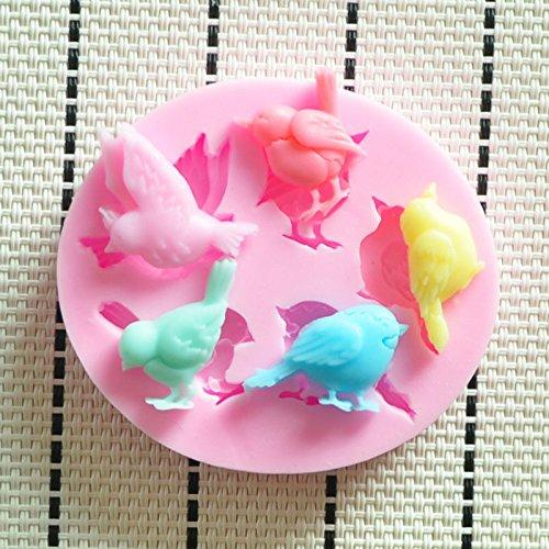 New Lovely Bird Silicone Mold,fondant Cake Decorating Tools,silicone Soap Mold,silicon Molds Cake Decorating