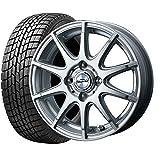 国産スタッドレスタイヤ(165/60R15)+ホイール(15インチ) 4本SET(1台分)■Aセット:DOS モディカ2[シルバー]