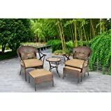 Mainstays-5-Piece-Skylar-Glen-Outdoor-Leisure-Set-Tan-Seats-2