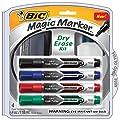 BIC Magic Marker Tank Style Dry Erase Kit ( Tank Style Dry Erase Kit/DETKITP61-AST)