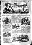 1853 Paris Transport Omnibus Railway Fiacre Citadine