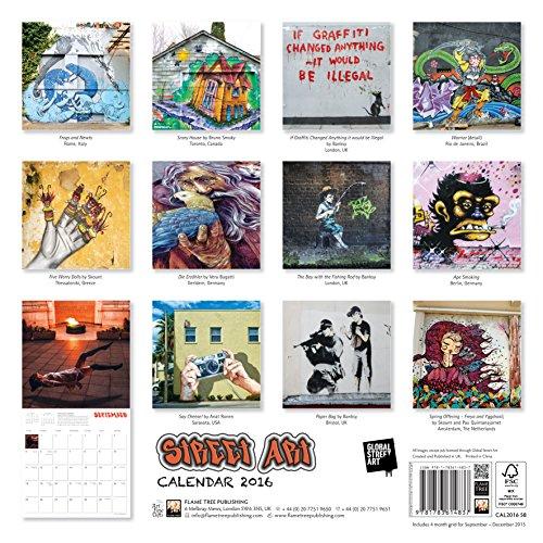 Street Art Wall Calendar 2016 (Art Calendar)