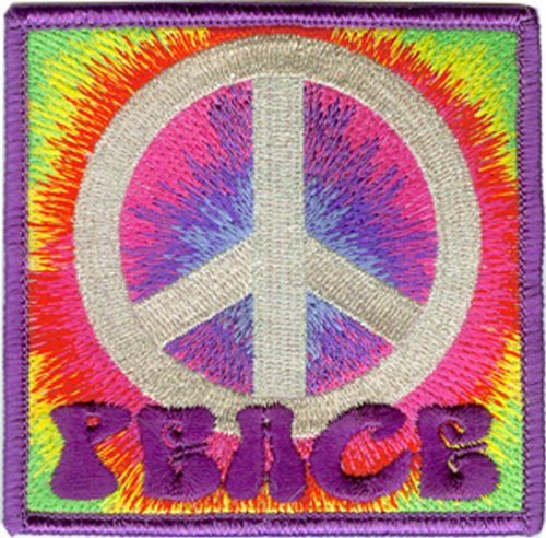 Application Psychedelic Peace Patch