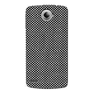 Wrapit Pattern Tiny White Dots Hard Back Case Cover For Lenovo S920