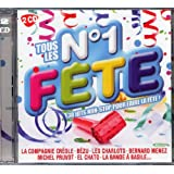2 CD TOUS LES N°1 FÊTE « 30 Hits Non-Stop Pour Faire La Fête » (titres originaux)