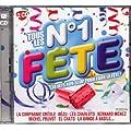 2 CD TOUS LES N�1 F�TE � 30 Hits Non-Stop Pour Faire La F�te � (titres originaux)