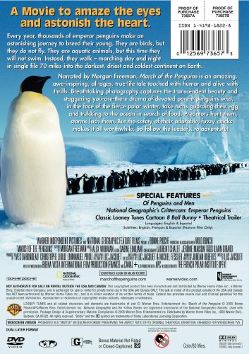 Cover art for  March of the Penguins (Widescreen Edition)