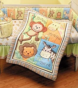 Soho Monkey Savannah Baby Bedding Collection