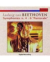 """Ludwig van Beethoven: Symphonies n. 4 & 6 """"Pastorale"""""""