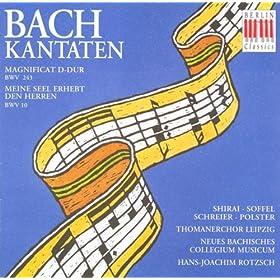Magnificat in D major, BWV 243: Trio: Suscepit Israel puerum suum (Soprano, Alto)