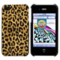 SoCal Case Leopard Hard Case Cover for Apple iPhone 4 / 4S