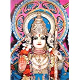 "Dolls Of India ""Lord Rama"" Reprint On Paper - Unframed (39.37 X 29.21 Centimeters)"