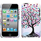 MyBat IPTCH4HPCIM682NP Love Tree Phone Protector Cover for iPod Touch 4 (White)