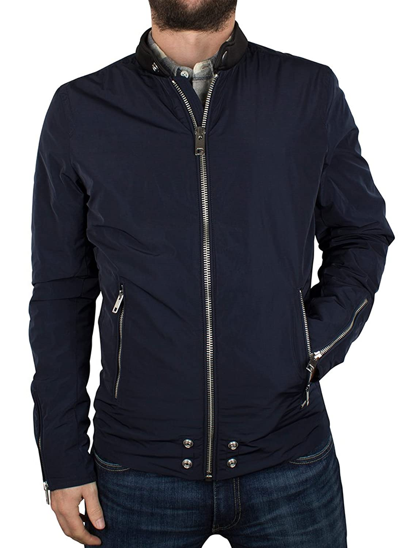 Diesel Herren Edg Clean Zip Jacket, Blau