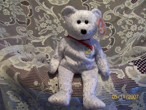 TY DECADE BEAR (WHITE) - 1