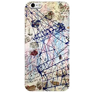 BetaDesign Paris Back Cover, Designer Cover for iphone 6s (Multicolor)