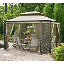 Buy Lattice Gazebo Replacement Garden Canopy Sale