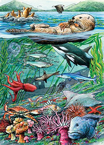 Life on the Pacific 35 Piece Sequenced Jigsaw Puzzle for Dementia and Alzheimer's