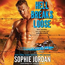 Hell Breaks Loose: A Devil's Rock Novel, Book 2 Audiobook by Sophie Jordan Narrated by Christian Fox