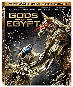 Gods of Egypt [3D Blu-ray + Blu-ray + DVD + Digital HD] from LIONSGATE