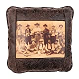 Big House Home Collection 'Texas Rangers' Home Accent Pillows, 16 by 16-Inch