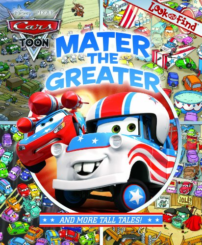 Mater The Greater And More Tall Tales: Look And Find (Cars
