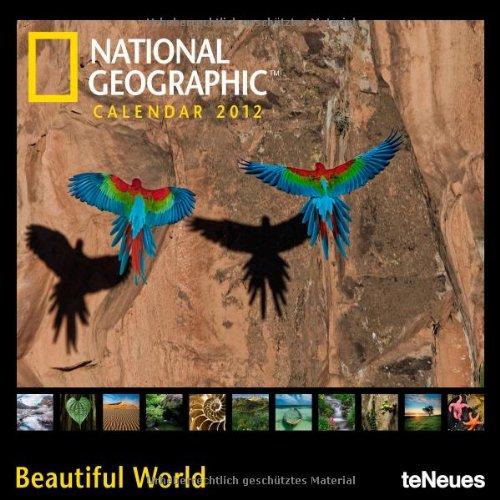 2012 NG Beautiful World Grid Calendar