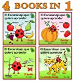 Spanish for Children: 4 Books Collection that will Teach Your Kids First New Words in Spanish (First words Collection - for Children Book 3)