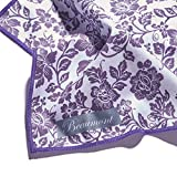 Beaumont BFC-DL Damson Lace Microfiber Flute Cleaning Cloth