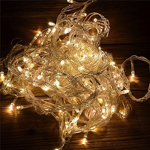 10M 100LED Warm White String Fairy Lights Party Christmas Decor Outdoor Indoor (Mexican Restaurant Lights compare prices)