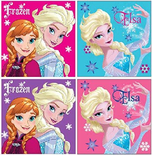 Disney Frozen Set di 4 Guanti da doccia