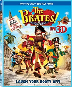 The Pirates! Band of Misfits (Three-Disc Combo: Blu-ray 3D / Blu-ray / DVD)