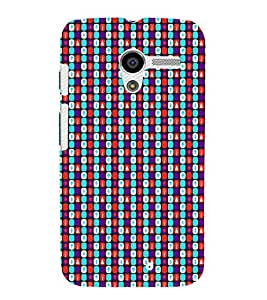 EPICCASE chess fonts Mobile Back Case Cover For Moto X (Designer Case)