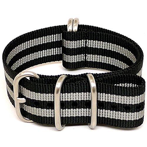 daluca-ballistic-nylon-nato-watch-strap-bond-matte-buckle-26mm
