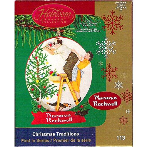 Carlton Cards Christmas Traditions Norman Rockwell No. CXOR-113P